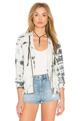Gypsy 05 Lounge Zip Up Hoodie White
