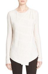 Women's St. John Collection Textured Links Knit Sweater