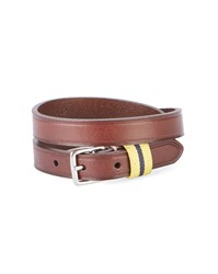 Polo Ralph Lauren Camel Leather Buckle Bracelet