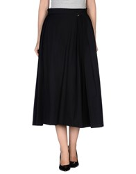 Mangano Skirts 3 4 Length Skirts Women Black