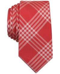 Bar Iii Men's Canton Plaid Skinny Tie Only At Macy's
