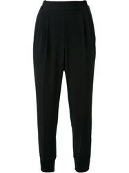 Muveil Tapered Trousers Black