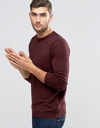 Jack And Jones Premium Crew Neck Jumper Sassafras Red