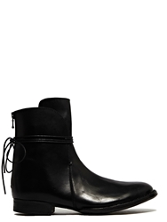 New Season Barny Nakhle Womens Shiny Calfskin Leather Boots