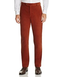 Brooks Brothers Milano Slim Fit Corduroy Pants Light Pastel Brown