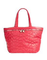 Dolce Vita Quilted Tote Bag Pink
