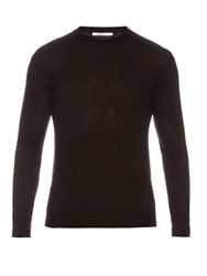 Givenchy Cuban Fit Wool Sweater Black