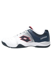 Lotto Ttour Vi 600 Multicourt Tennis Shoes White Aviator
