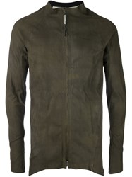 Isaac Sellam Experience Zip Up Jacket Green