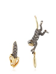 Bibi Van Der Velden Monkey Earrings
