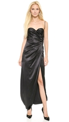 Moschino Backwards Gown Black
