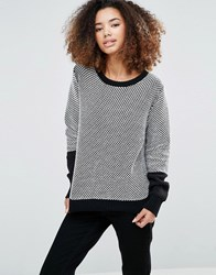 Shae Dotted Jumper Black