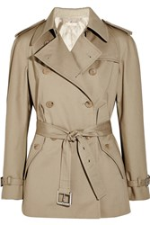 Michael Kors Cotton Trench Jacket Nude
