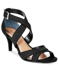 Styleandco. Style And Co. Pravati Evening Sandals Only At Macy's Women's Shoes Black