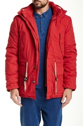 Native Youth Explorer Jacket Red