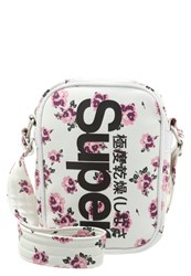 Superdry Festival Across Body Bag White