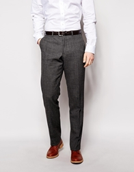 Dkny Classic Fit Suit Trousers Grey