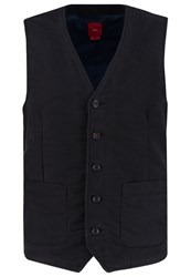 S.Oliver Waistcoat Charcoal Anthracite