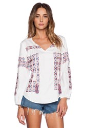 Kas Asha Blouse White