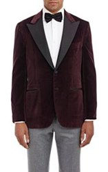 Sartorio Velvet Pg Drop 8 Tuxedo Jacket Red Size 38 Regular