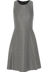 Theory Trekana Stretch Jacquard Dress Gray