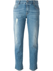Givenchy Cropped Washed Jeans