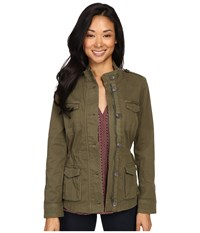 Lucky Brand The Utility Jacket Olive Women's Coat