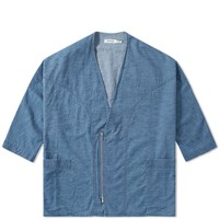 Nonnative Denim Zip Jacket Blue