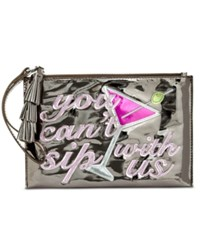 Inc International Concepts Wristlet Only At Macy's Silver