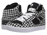 Osiris Clone Houndstooth Women's Skate Shoes Black