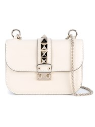 Valentino Garavani 'Rockstud' Shoulder Bag White