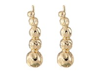 Sam Edelman Crinkle Metal Crawler Earrings Gold Earring