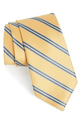 Nordstrom Men's Men's Shop Stripe Silk Tie Yellow