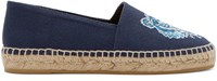 Kenzo Navy Embroidered Tiger Espadrilles