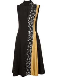 Creatures Of The Wind Pleated Detail Mid Dress Black