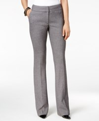 Alfani Petite Yarn Dyed Wide Leg Pants Only At Macy's Speckle Yarn