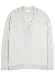 Duffy Light Grey Cashmere Blend Jumper