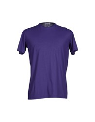 Gran Sasso Topwear T Shirts Men Dark Purple