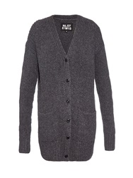 Nlst Fisherman Ribbed Knit Cardigan