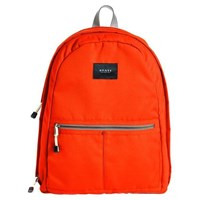 State Bags Bedford Classic Backpack Neon Orange Gray