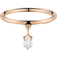 Finn Women's Rose Gold Band With Diamond Teardrop No Color