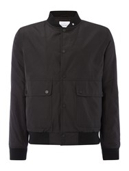 Peter Werth Social City Wadded Memory Poly Jacket Black