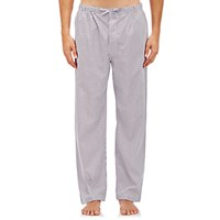 Barneys New York Men's Striped Pajama Pants White