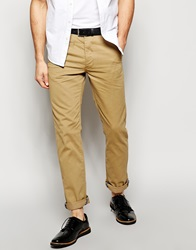 New Look Chino In Straight Fit Stone
