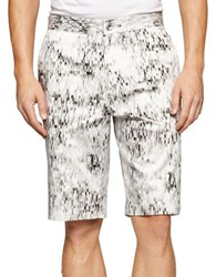 Calvin Klein Patterned Shorts White