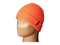 Celtek Clan Beanie Safety Orange Beanies Brown