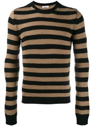 Valentino Striped Jumper Nude Neutrals