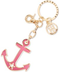 Tommy Hilfiger Anchor Key Ring Fob Pink
