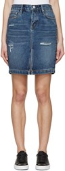Earnest Sewn Blue Denim Skirt