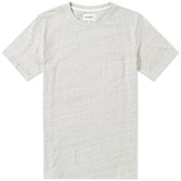 Norse Projects Niels Flame Overdye Tee Neutrals